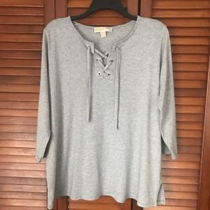 Michael Kors gray shirt XL